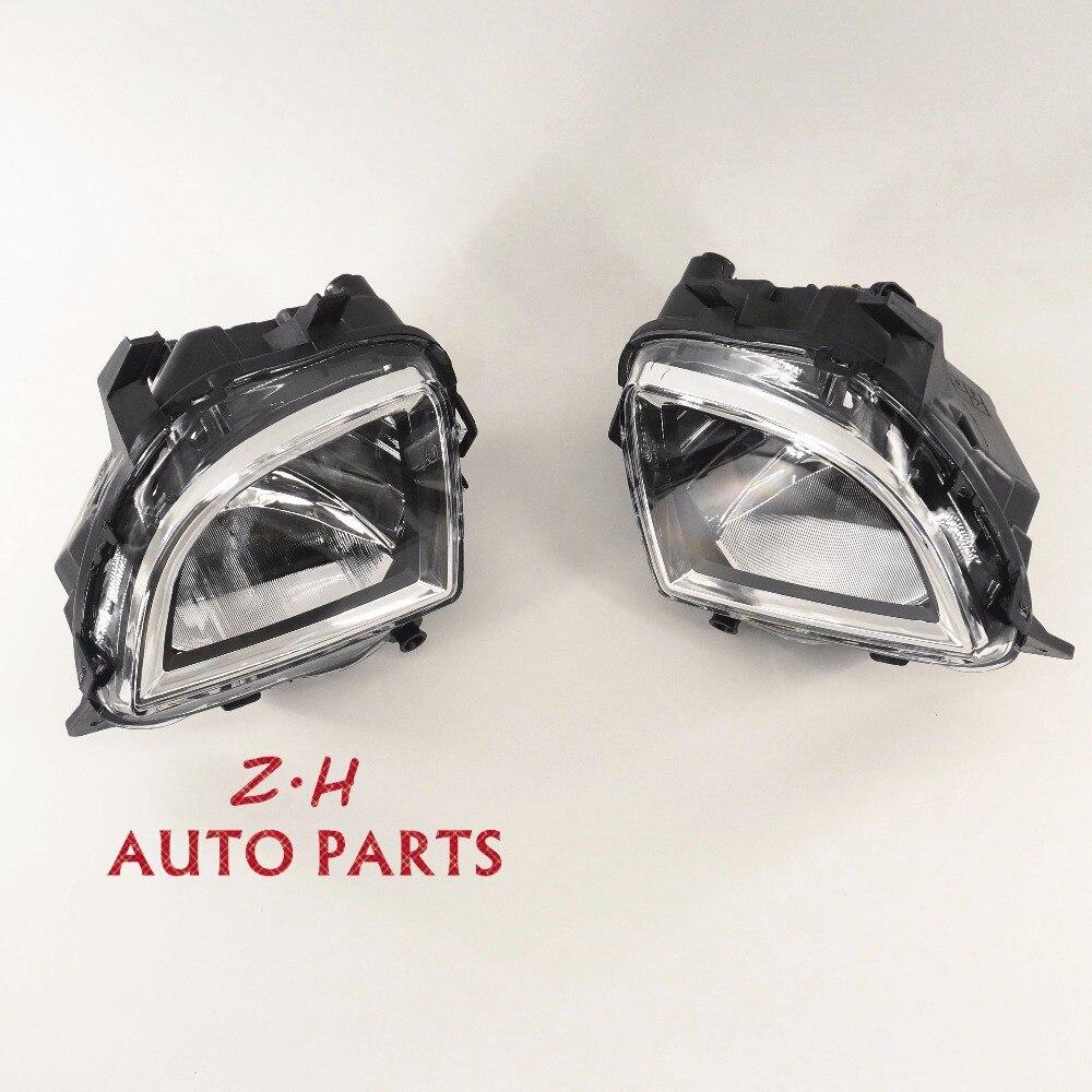 VW OEM Front Clean Fog Lights Fog Lamps Pair 5K0 941 699 E \ 5K0 941 700 E Fit VW Golf GTI Jetta GLI MK6 MKVI New <br>