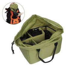 Breathable Video Camera Liner Bag Case Cameras and Lens Protective Bag Insert Padded Camera Digitial Inner Folding Divider bag 3(China)