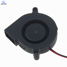 10 pcs/lot Gdstime 5015s 50mm DC 12V 0.16A High Speed Centrifugal Blower Fan 50 x 15mm Small Cooling Cooler
