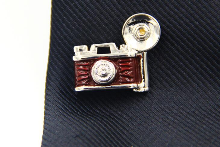 10pcs/lot Vintage Enamel Camera Brooches Suit Sticker Badge Brooch Pins Shirt Lapel Pins Men's Jewelry Gift