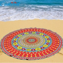 Ouneed Top Grand Red Table Cover Table Cloth Happy Gifts Chiffon Fondos De Pantalla Round Beach Pool Home Blanket Yoga Mat