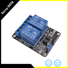5V 2--Channel Relay Module PIC ARM DSP AVR Electronic 2-way relay expansion board