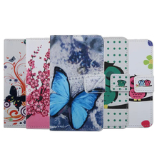 New Arrival Butterfly PU Leather Cover case for HTC Desire 526 526G 526G+ Flip wallet back Cover case For HTC desire 526 g case
