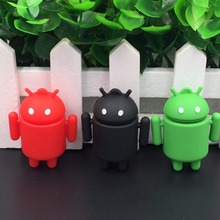 Mini Android Robot Usb Flash Drive pendrive 4GB 8GB 16GB 32GB iRobot Ava Lovely Gift Full Capacity cartoon memory stick