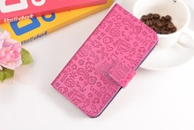 Magic Girl Cover PU Stand Wallet Flip Leather Cover For Micromax Canvas Power 2 Q392 Case With Card Slots+Lanyard gift