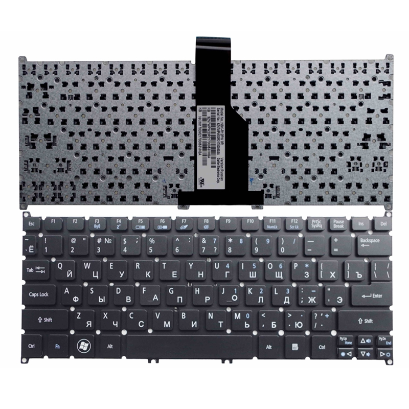 Russian laptop keyboard For Acer For aspire S3-951 S3-371 V5-171 S3-391 ONE B113 725 726 AO765 756 MS2346 V5-131 RU(China (Mainland))