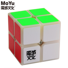 2017 Brand New MoYu LingPo 50mm 2x2x2 Puzzle Magic Cube Speed Cubes Educational Toy Special Toys