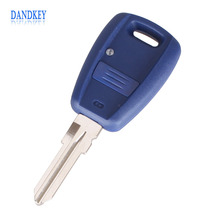 Dandkey 1 Button Uncut Blade Remote Key Shell Case For Fiat Stilo Punto Seicento Flip Fob Car Key Case NO Chip Keyless Entry Key(China)