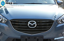 Accessories High Quality ! For Mazda CX-5 2015 2016 ABS Front Grille Grill Cover Trim 8 Pcs / Set