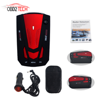 MAOZUA V7 Cobra Car Radar Detector Car Radar Laser Speed Detector With English Russian Language