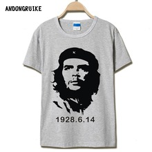 CHE GUEVARA summer o neck 3d print shirt men brand clothing cotton mens t shirts fashion 2016 hombre tops tee free shipping