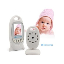 2.0 inch radio nanny baby sitter 2017 Temperature monitor Lullabies IR Night vision 2 way Talk baba electronics video babysitter