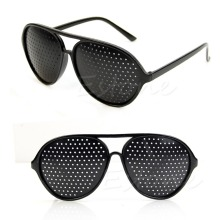 High Quality Cool Care Vision Improver Anti-fatigue Stenopeic Pinhole Glasses(China)