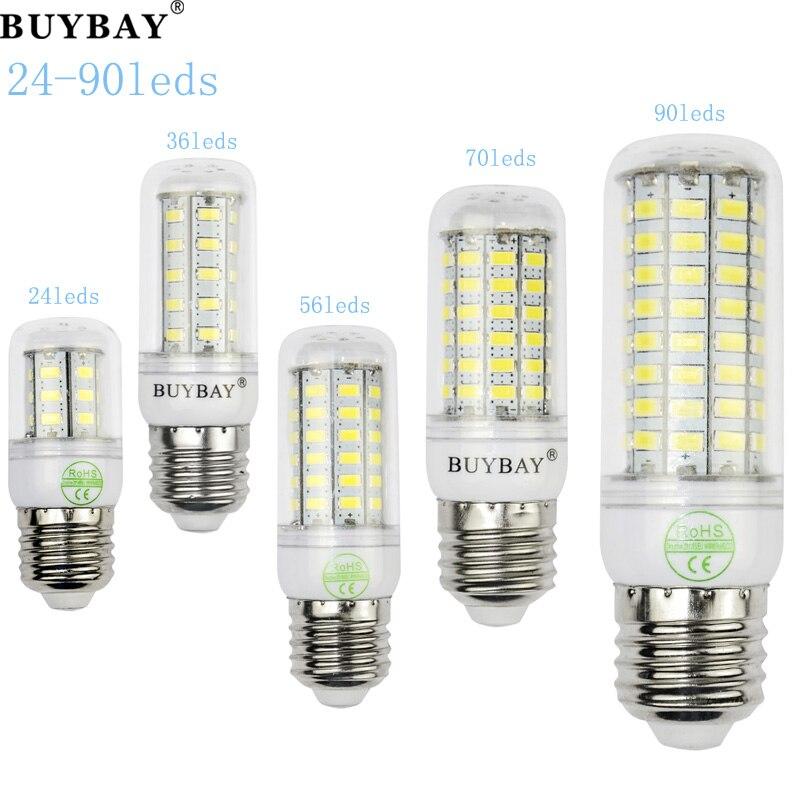 High Quality Led light SMD5730 led lamp 220V/110V,warm white/white 24 to 90leds bombillas led bulb better than 5050 4014 2835<br><br>Aliexpress