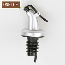 Free Shipping Oil bottle stopper vinegar bottles can ABS lock plug seal Leak-proof Food grade plastic Nozzle(China)