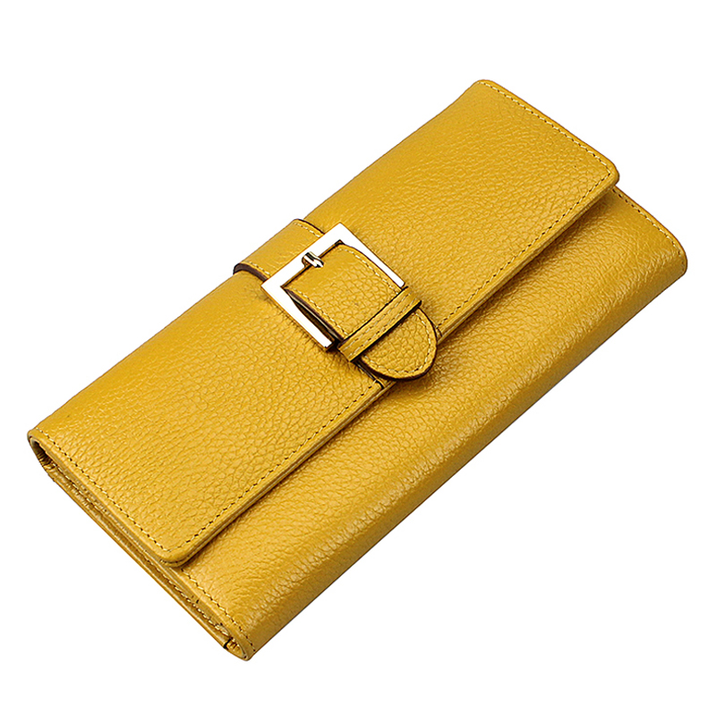 2017 Promotion Special Offer Wallet Genuine Leather Bag Wallets Zuoerdanni Womens Long Solid Genuine Leather Wallet Envelope A88<br><br>Aliexpress