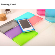 Running Camel Candy Color Soft TPU Silicone Case cover for Apple iPod Nano 7 7G 7th generation(China)