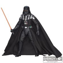 Free shipping Movie Star Wars The Force Awakens The Black Series #02 Darth vader 15cm PVC action figure new model toy collection