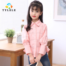 Girls Shirts Cotton Blouses Children Clothing Fashion Kids Blouses Infant Clothes Tops Girl Blouses 6 7 8 9 10 11 12 13 14 Years
