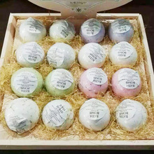 1pcs Natural Bubble Bath Bomb Ball Essential Oil Handmade Bath Fizzy Christmas