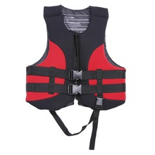 Professional Outdoor Life Vest Water Sports Life Jacket Buoyancy Aid Swimming Fishing Jacket With Whistle Drifting Surfing Vest