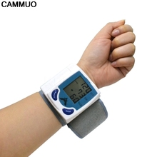 Health Care Portable Household Pulsometros Test Device Automatic Digital Wrist BP Blood Pressure Pulse Monitor Sphygmomanometer(China)