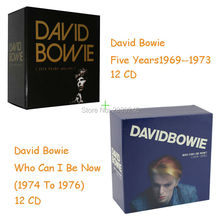 Free shipping David Bowie Five Years (1969 - 1973) 12 CDs + Who Can I Be Now? [1974 - 1976] 12 CD