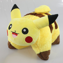 Pikachu Plush toys Pikachu Cosplay Cute Stuffed Animals Soft kawaii plush pillow Fashion Cartoon Plush Toys