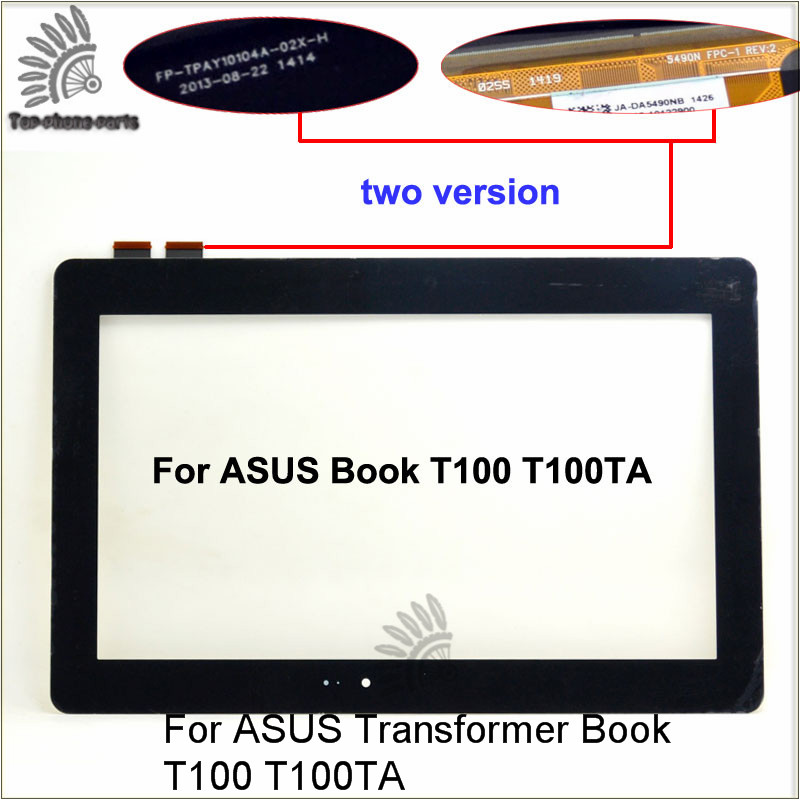 For ASUS Transformer Book T100 T100TA touch screen Glass Panel Digitizer with 10.1 inch Touchscreen<br><br>Aliexpress