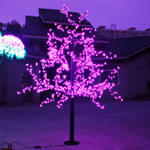 LED Cherry Blossom 2M LED Tree Lamp Landscape led Christmas Tre Outdoor(China)