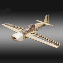 RC Plane Laser Cut Balsa Wood Airplane  Kit  New Extra260  Frame without Cover Free Shipping Model Building Kit