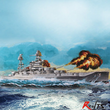 RealTS Hobby Boss Model Kit - USS Arizona BB-39 Ship - 1:350 Scale - 86501 - New hobbyboss trumpeter