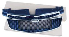 FITS For Chevy cruze 2009-2013 2PCS Original version Front Grill Grille Upper+Lower(China)