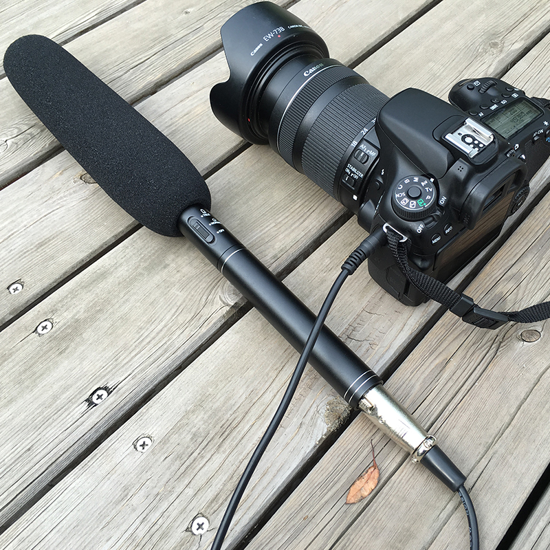 BUB Professional Shotgun Interview Microphone Directional Condenser MIC for Canon Nikon Sony DSLR DV Camcorders<br><br>Aliexpress