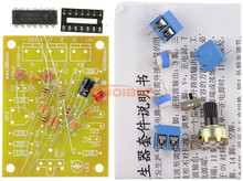 ICL8038 Function signal generator circuit Kit / Sine wave / Triangle wave / Fang Bo signal circuit parts diy kit(China)