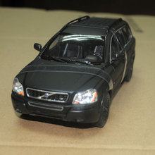 WELLY 1/24 Scale Sweden Volvo XC90 SUV Diecast Metal Car Model Toy New In Box For Collection/Gift/Kids/Decoration