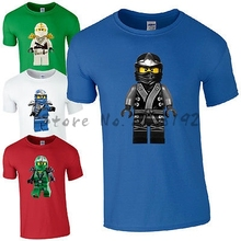 Lego Ninjago Character T-Shirt - Cool Ninja Figure Inspired Kids Mens Unisex men's top tees DIY Factory store