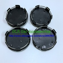 DHL 100pcs 60mm black/silver Car Wheel Center Caps Hubs covers emblem for Peugeot for 107 206 207 307 308 406 407 car styling