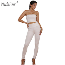 Nadafair High Waist Side Zipper Fly Suede Pants Women Casual Pencil Trousers(China)