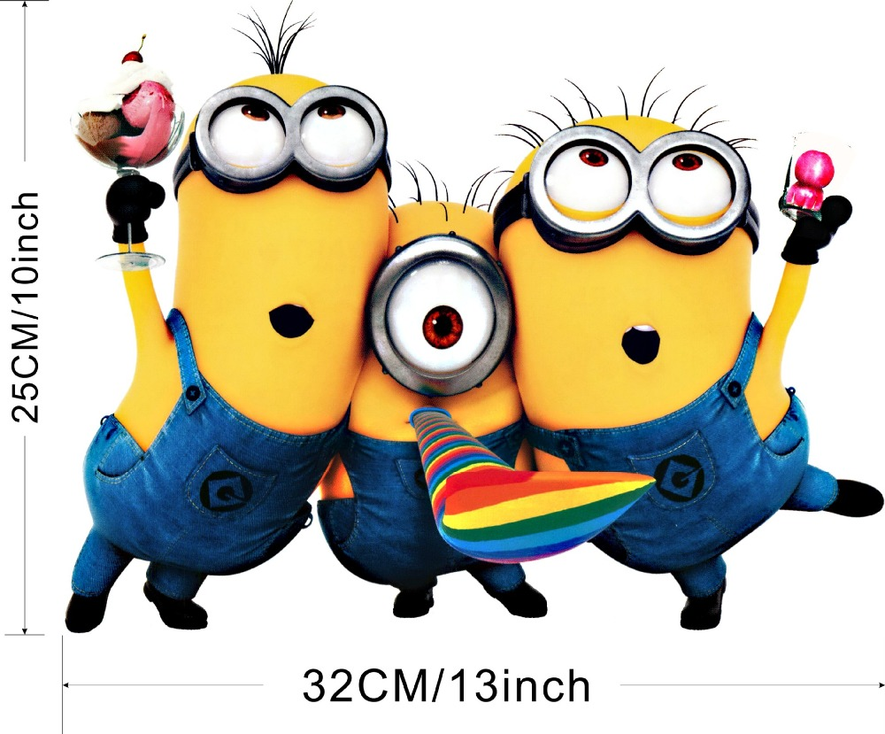 Minions 3d Wall Art Promotion-Shop for Promotional Minions 3d Wall ...