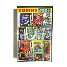 Nintendo Super 369 in 1 Video Game Cartridge Console Card Compilations Collection(China)