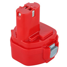 For Makita 12V PA12 2000mAh Ni-CD Replacement Power Tool Battery FLOUREON Rechargeable Battery for Makita 1220 1222 1233S 1233SB