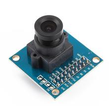 1Pcs Blue OV7670 300KP VGA Camera Module for Arduino CIF auto exposure control display active size 640X480(China)