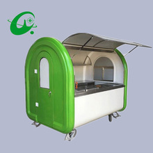 Multifunctional Mobile Food Trailer Cart Fast food kitchen concession trailer(China)