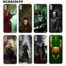Buy WEBBEDEPP Loki Thor Hard Cover Case iPhone 8 7 6S Plus X/10 5 5S SE 5C 4 4S for $1.49 in AliExpress store