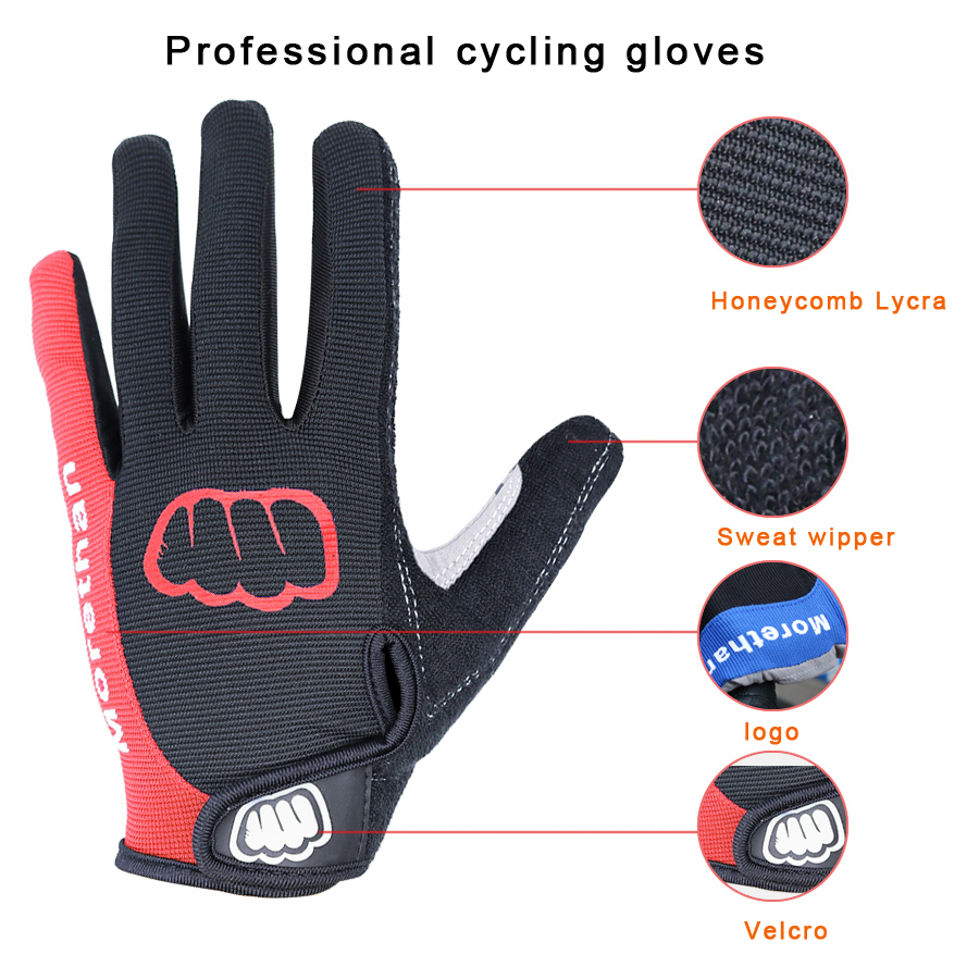 CXWXC Cycling Gloves for Men Women Breathable Gel Road Mountain Bike Riding Gloves Anti-Slip Half Finger Glove for Fitness Cycling Training Outdoor Sports