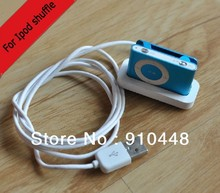Free shipping USB Charger Charging Dock Cable For iPod for Shuffle2 2ND 3 3RD GEN 2G