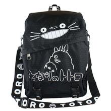 Anime Tonari No Totoro Waterproof Laptop Backpack/Double-Shoulder Bag/School/Travel Nylon Bag