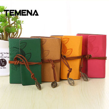 Temena 20 Card Slots Vintage PU Leather String Leaves Credit ID Card Holder Passport covercard bank credit card Business ACH265(China)