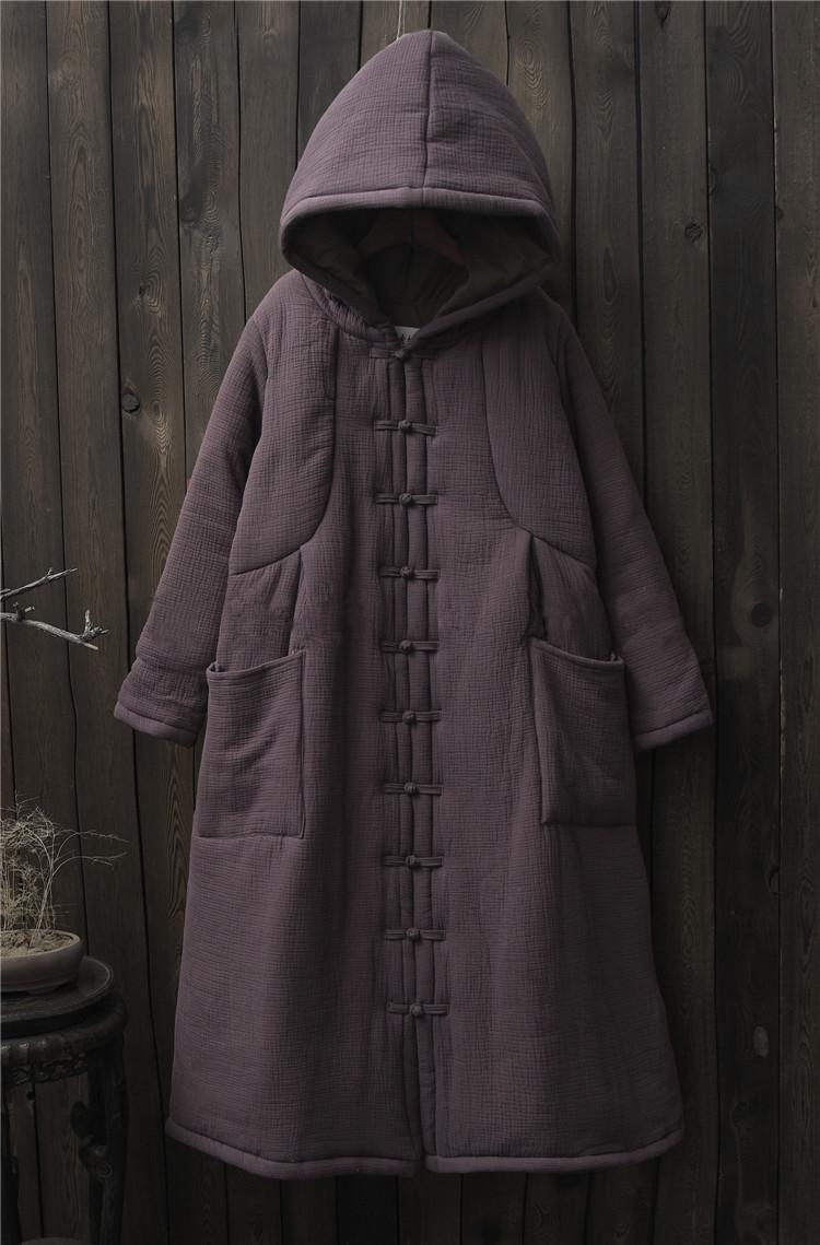 female winter hooded cape (9)